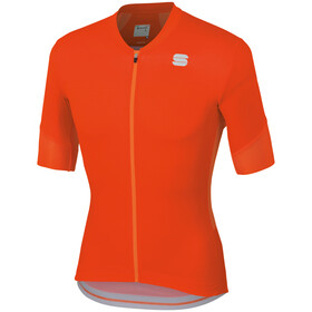 Sportful GTS Maillot de cyclisme Homme, red orange sdr